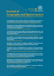 Journal of Geography and Spatial Justice